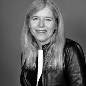 Black and white image of Margaret Mulholland