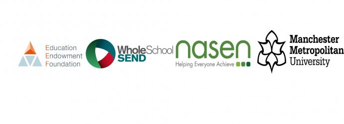 EEF Foundation, Whole School SEND, nasen and MMU logo