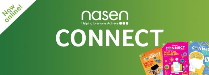 Promotional image for nasen Connect
