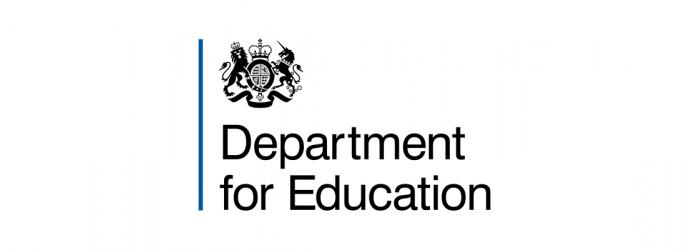 DfE logo for news items