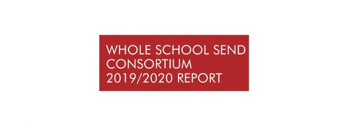 Image shows Whole School SEND Impact Report cover