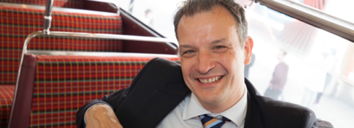 Head shot of Jeremy Gould - trustee