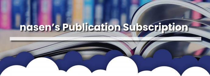 Publication subscription banner