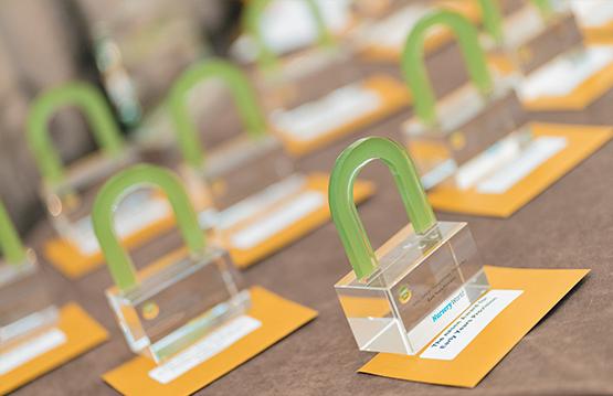 nasen awards on a table