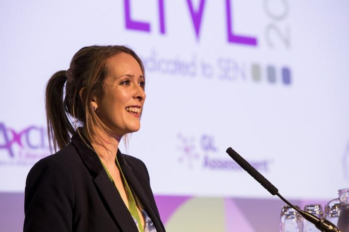 Speaker at nasen Live 2019